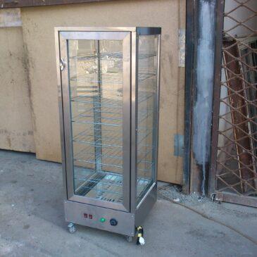 گرمخانه ویترینی دارای فن هوا