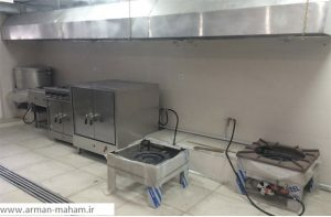 چگونه یک آشپزخانه صنعتی کوچک طراحی کنیم