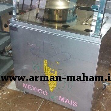 دستگاه ذرت مکزیکی با نما و نور مخفی