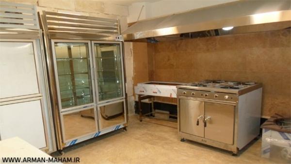 تجهیز آشپزخانه درمانگاه امیر