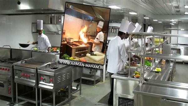 چگونه آشپزخانه صنعتی کوچک طراحی کنیم
