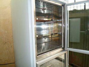 فریزر ایستاده دومتری با درب شیشه ای