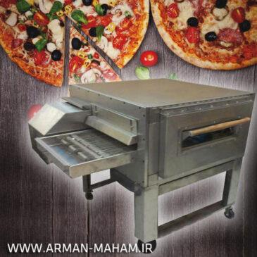 فر پیتزا ریلی دهنه 50 طرح زانولی