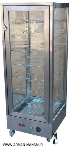 گرمخانه ویترینی شیشه ای هشت طبقه