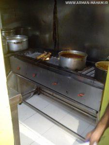 تجهیز رستوران کدبانو اکباتان تهران
