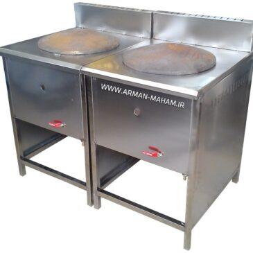 دستگاه ساج نان پزی