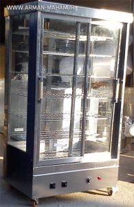 گرمخانه پیراشکی هفت طبقه بزرگ سفارشی