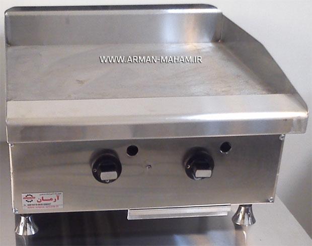 دستگاه گریل صنعتی روغنی استیک پز