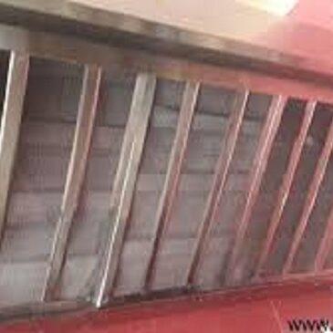 هود با فیلتر استیل آشپزخانه صنعتی