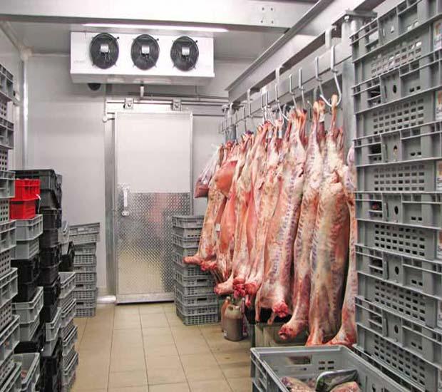 سردخانه مواد غذایی رستورانی