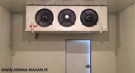 سردخانه صنعتی با موتورهای آلمانی