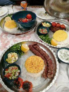 منوی باغ رستوران لیاء