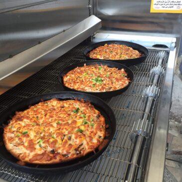 تاثیر انواع فر پیتزا درکیفیت پخت