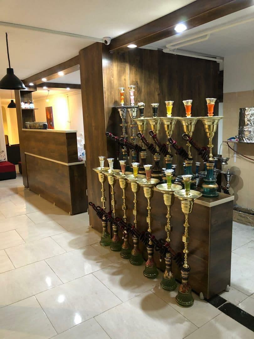 تجهیزات سالن کافه رستوران